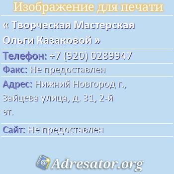 Почтовый индекс Нижнего Новгорода