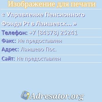 Контакты и адреса  pfrfru