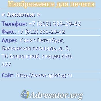 Ажиотаж по адресу: Санкт-Петербург, Балканская площадь, д. 5, ТК Балканский, секции 320, 322